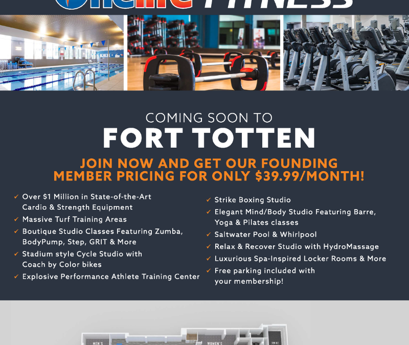 Preview Center for One Life Fitness is Open
